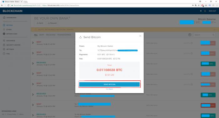 Step by Step 使用教學(一) Blockchain.info錢包 - 簡單易用的比特幣、以太幣及比特幣現金電子錢包