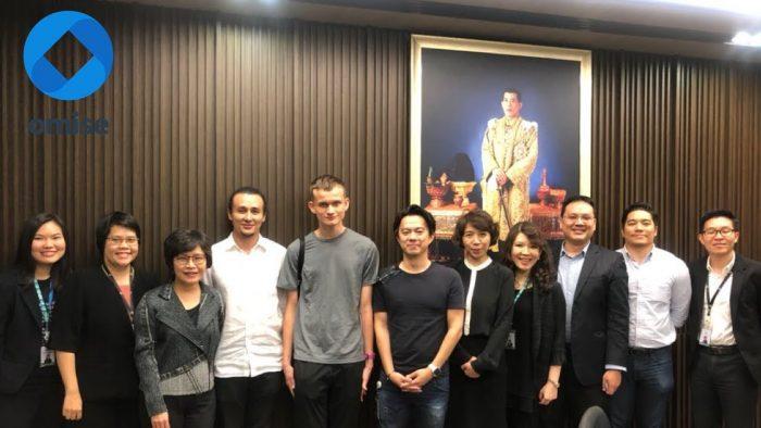 以太坊創始人Vitalik Buterin與泰國官員會面