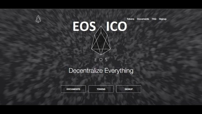 EOS在長達一年的ICO籌到接近40億美元