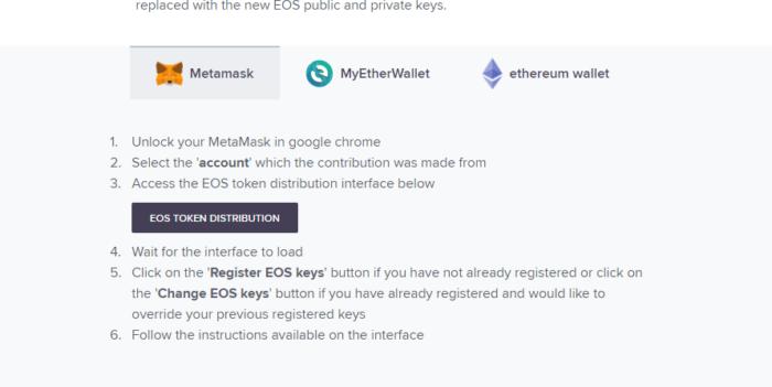 EOS 註冊教學!18年6月1日前你必需做的動作!