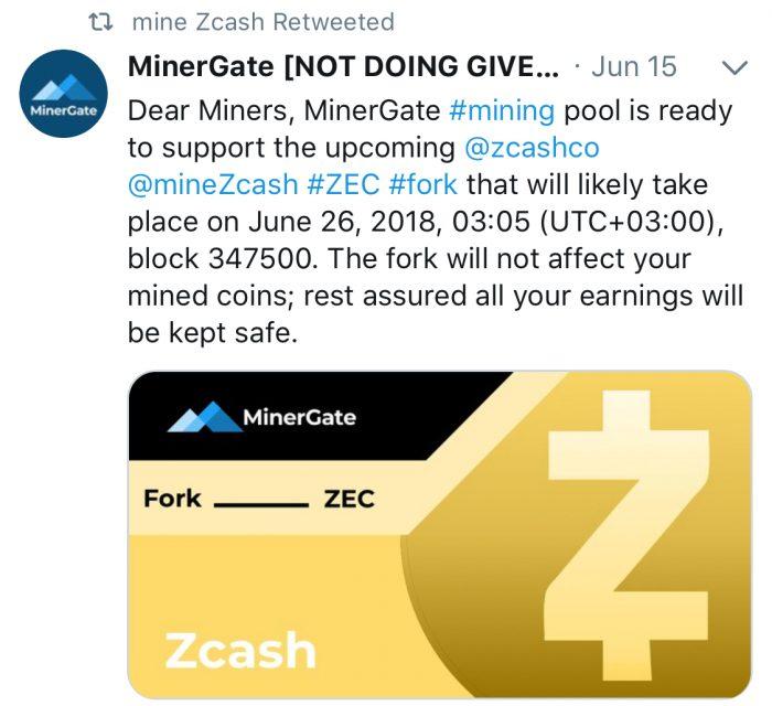 Zcash迎來首次硬分叉Overwinter
