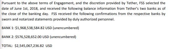 Tether聘用前聯邦調查局局長的律師事務所以確認有足夠美元儲備