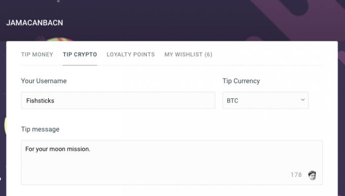 Twitch旗下實況媒體Streamlabs接受加密貨幣小費