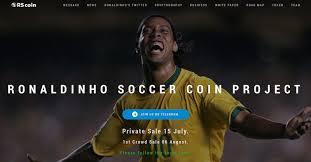 朗拿甸奴力推足球加密貨幣項目建足球學校