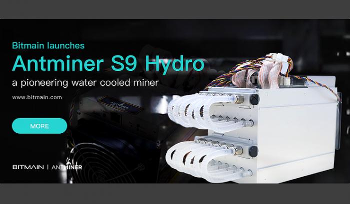 九十後礦工 | 比特大陸旗艦產品 ─ 水冷技術 Antminer S9 Hydro