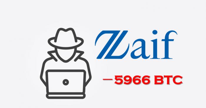 日本加密交易所Zaif被盜近6000比特幣 發現可疑地址