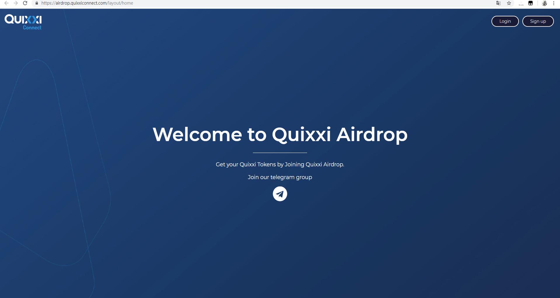 每日空投   Quixxi Connect
