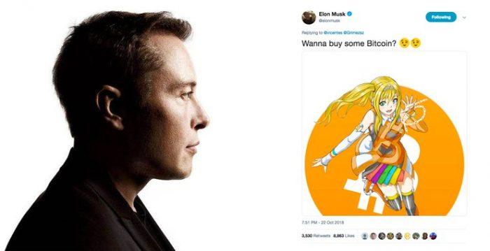 Tesla創始人Elon Musk發推談論比特幣 賬號被官方認為異常并鎖定