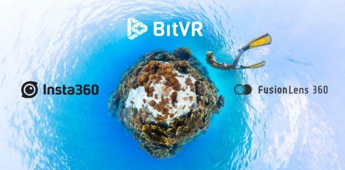 FusionLens與Insta360成為BitVR合作夥伴