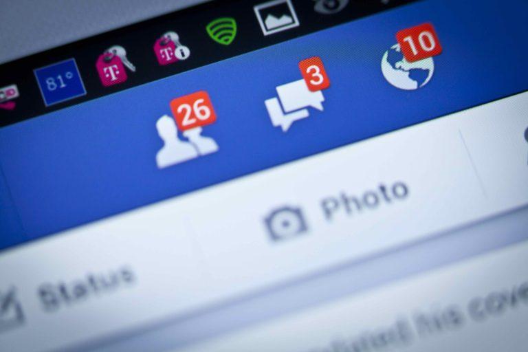 臉書,社交