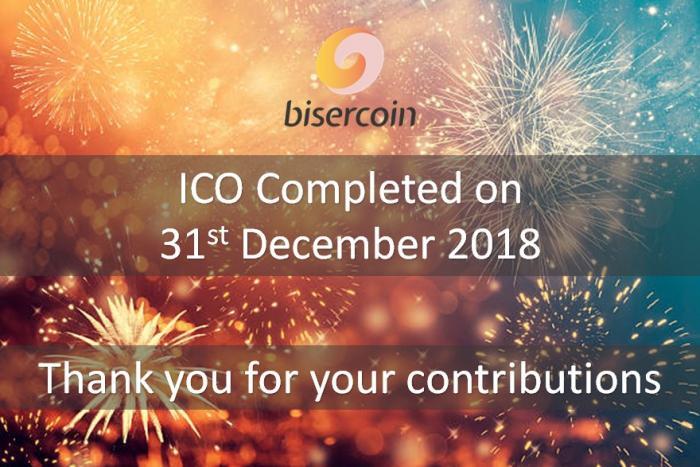 贊助 | Biser已完成ICO活動