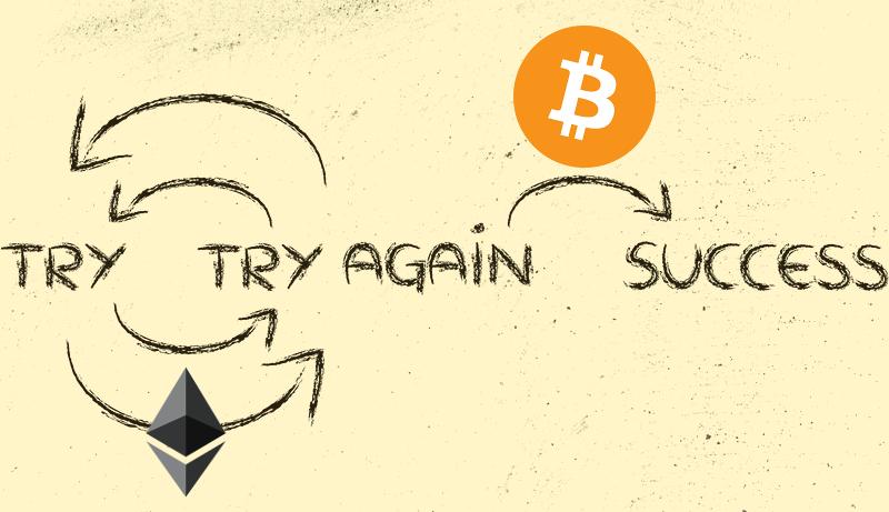 为什么以太坊1.0失败而比特币却成功了