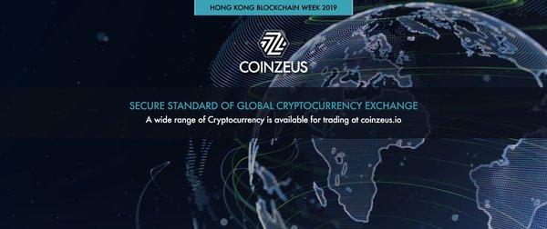 國際加密貨幣交易所COINZEUS將於3月4日出席香港區塊鏈周