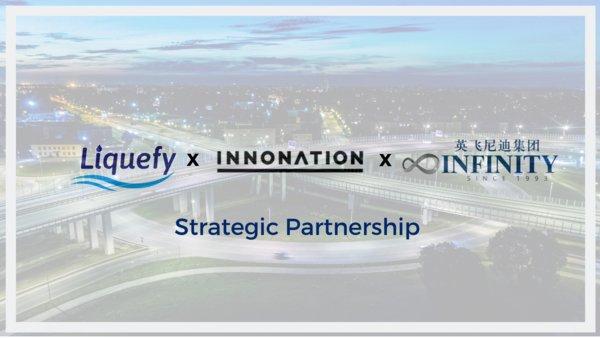 利用區塊鏈技術為企業提供嶄新商業模式方案的 Liquefy 宣布與 Infinity 集團及Innonation的合作。Infinity 集團是活躍於中國、以色列和美國的跨境投資公司,擁有超過15億美元資產管理規模;Innonation則是促進以色列和中國之間的跨境合作關係的平台。