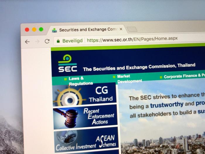 快訊 | 泰國SEC或將為加密交易所製定數字資產業務數據庫