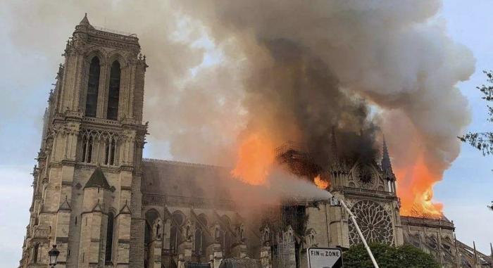 巴黎聖母院被毀 BlockShow發動BTC ETH募捐