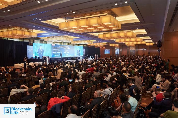 000名與會者聚集在新加坡Blockchain