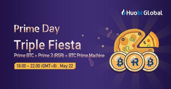火幣Prime日推出Reserve和比特幣特賣活動