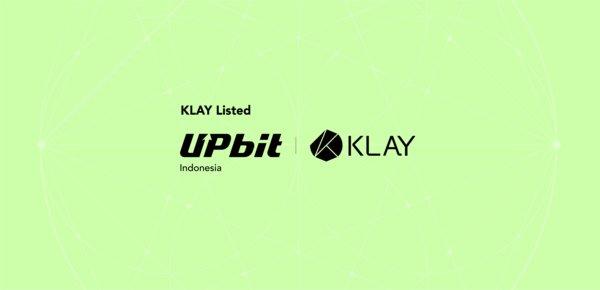 KLAY將在Upbit印尼交易所上市交易