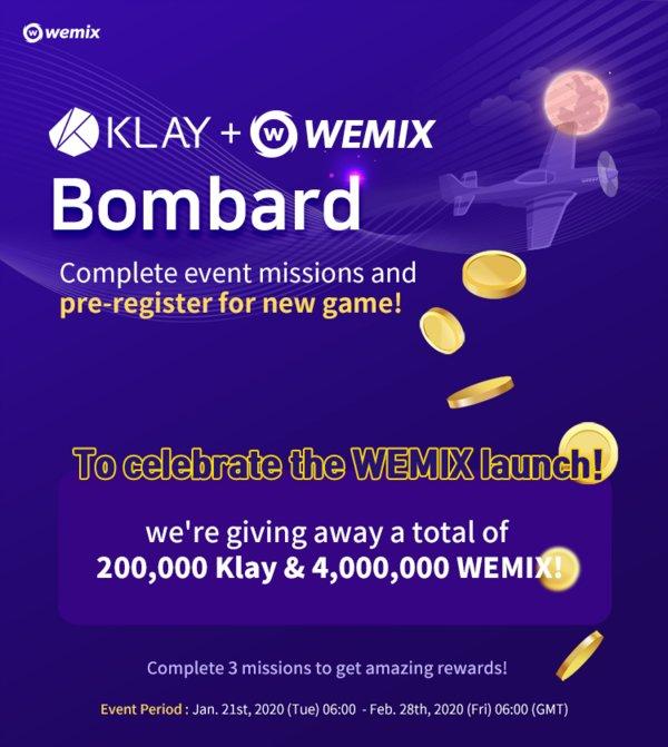 WEMIX 上市活動