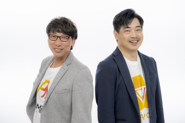(左)聯合執行長Naohito Yoshida/(右)聯合執行長Shigeru Shiina