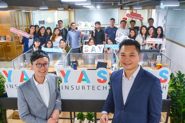 YAS以震撼式創新  開啟保險科技未來  重塑保險業生態系統及商業模式