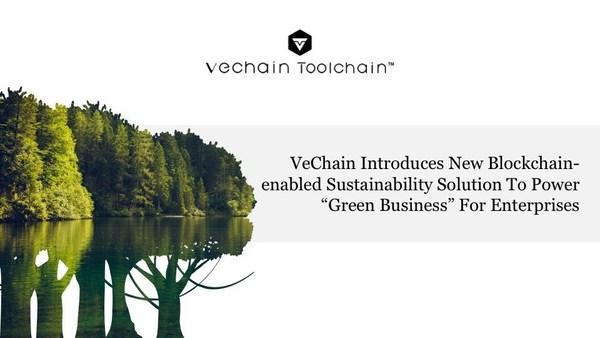 唯鏈推出新的區塊鏈可持續性解決方案,助力企業「綠色業務」