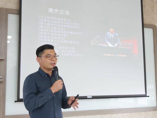 後新冠時代有什麼機會?前立委許毓仁:在所有災難裡面,永遠都會有創新。